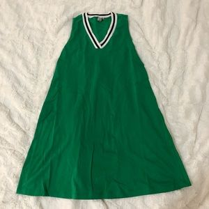 ASOS Green Sporty T-Shirt Dress
